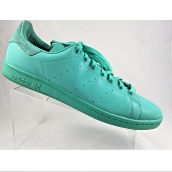 new styles badec e6911 Adidas Stan Smith Adicolor Mens Green 13